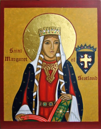 Margaret of Scotland icon