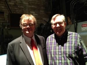 Garrison Keillor and Neil Alan Willard
