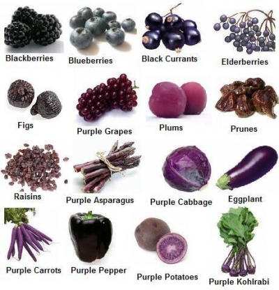 Purple Food
