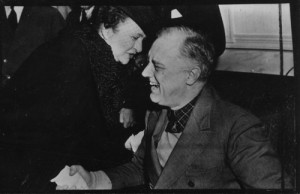 Perkins with President Franklin Delano Roosevelt