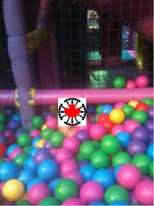 Maple in a ball pit