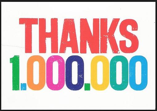thanks a million thanks a million thanks a million thanks a million ...