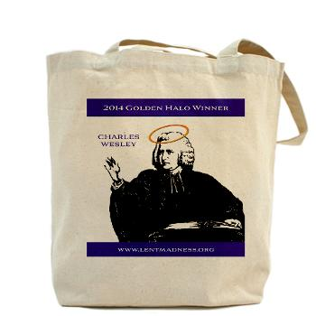 lent madness tote bag