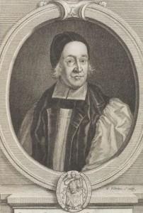 NPG D15194,Thomas Ken,by; after George Vertue; F. Scheffer