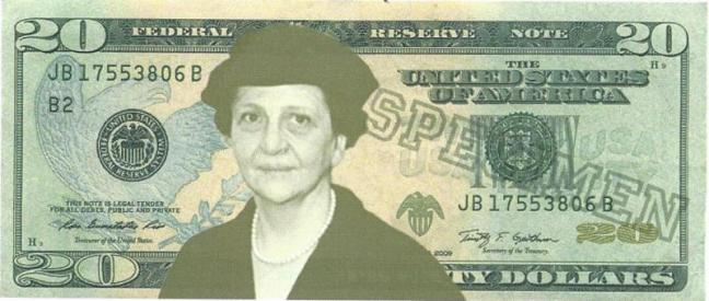Frances Perkins on $20
