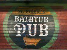 bathtub pub