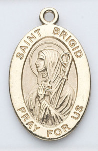 brigid gold medal
