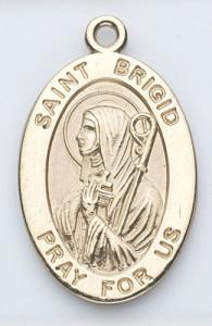 brigid gold medal