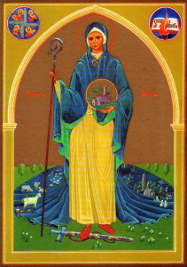 brigid-of-kildare-icon