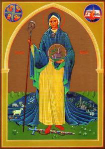 brigid-of-kildare-icon