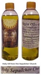 egeria holy oil