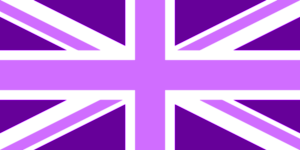 Purple Union Jack
