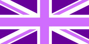 Purple Union Jack