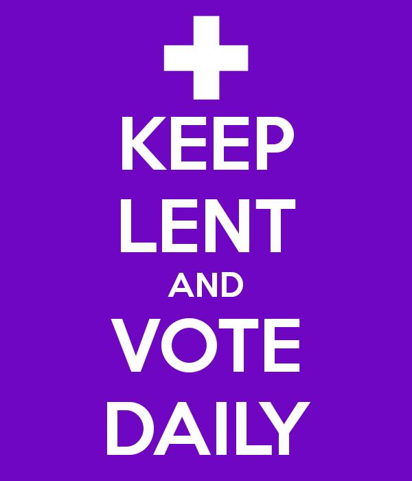 Keep Lent Vote