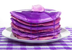 purple pancakes