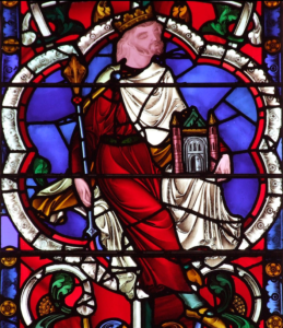 John of Beverley stained glass