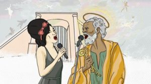 Amy winehouse and St. Peter
