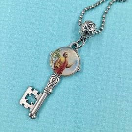 Key with St. Peter image