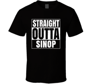 T shirt- Straight Outta Sinop