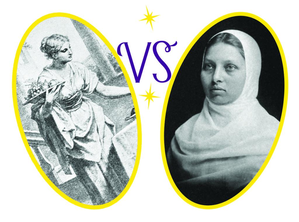 For the Golden Halo: Martha of Bethany vs  Pandita Ramabai | Lent