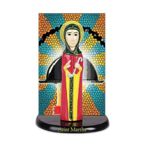 And for those in the service industry, for whom Martha is the patron, comes this mini, plastic St. Martha statue, in which Martha holds a ladle and appears ...