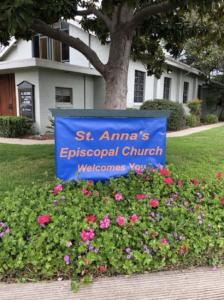 St. Anna's sign